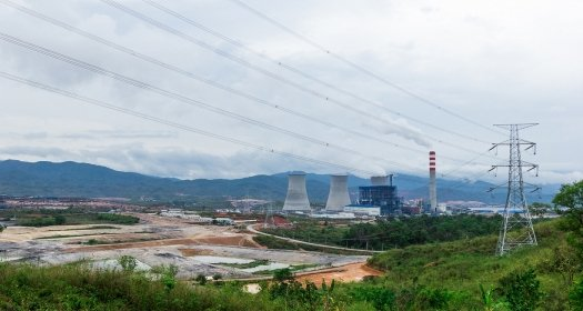 Power Plant in Northern Loas