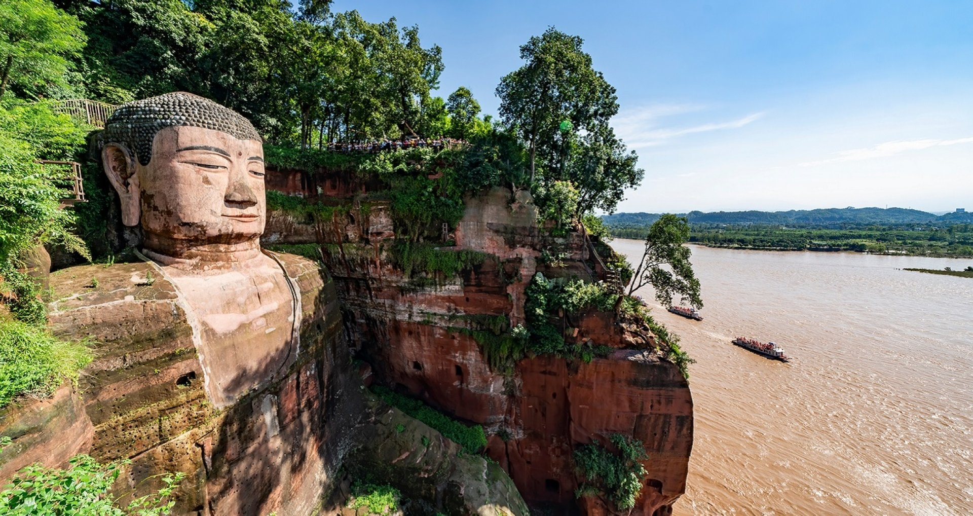The Giant Leshan Buddha of China